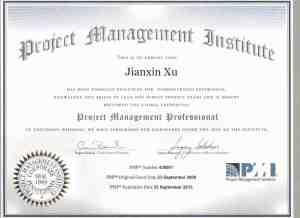 pmp sertifika