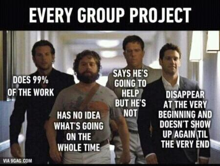 team in project
